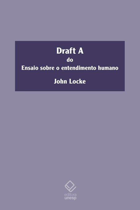 Draft A do Ensaio sobre o entendimento humano